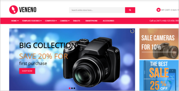 Ecommerce Collection Joomla Template