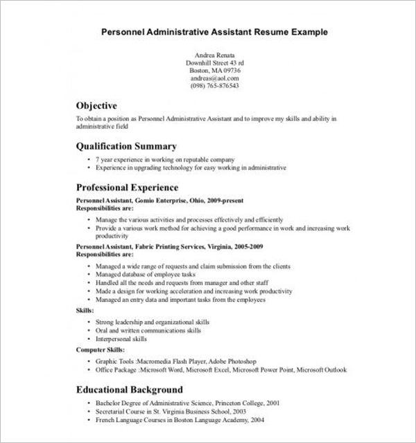 Editable Executive Summary Example