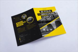 Editable Leaflet Brochure Design