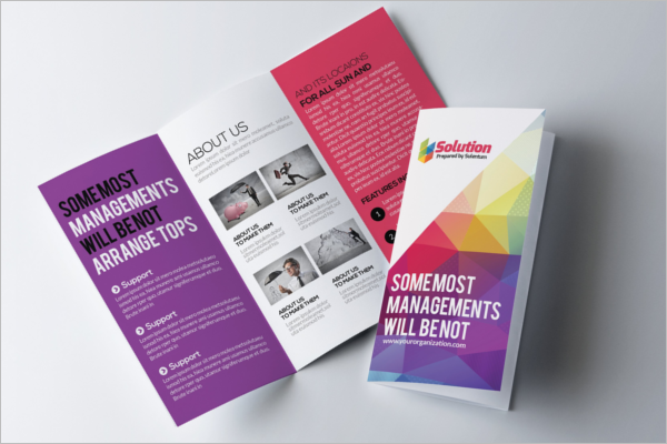 Editable Training Brochure Template