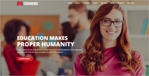 Education Business HTML5 Template