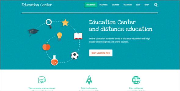 Education Center HTML5 Template