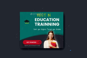 EducationFacebook Ad Template