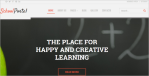 Educational School Portal Responsive Joomla Template
