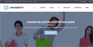 Educational University Joomla Template