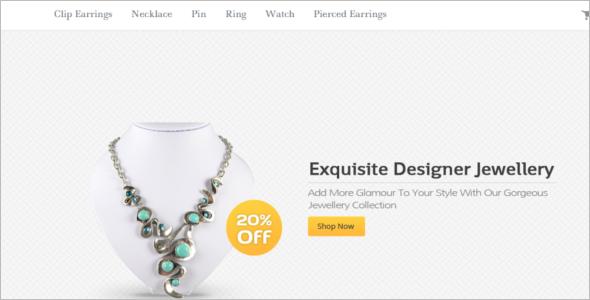 Elegant Jewelry HTML5 Template