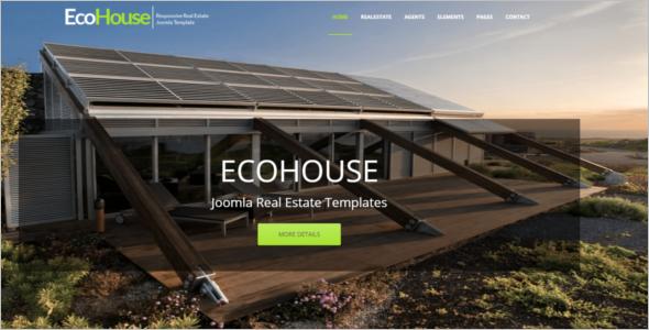 ElegantReal Estate Joomla Template
