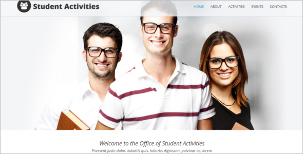 Elegant University Joomla Template