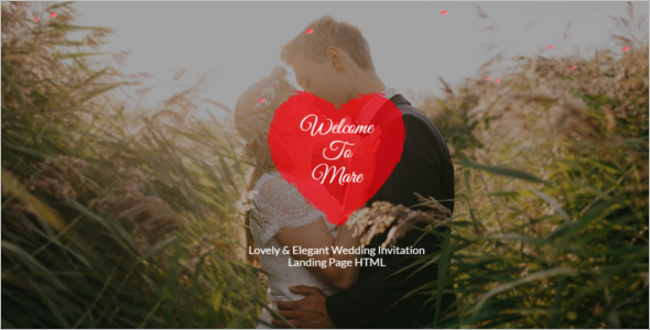 Elegant Wedding HTML5 Template