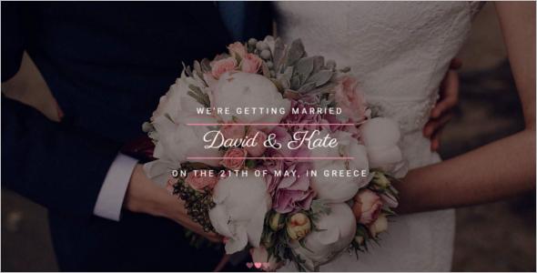 Elegant Wedding Website Template