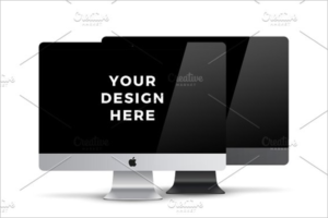 Elegant iMac Mockup Design