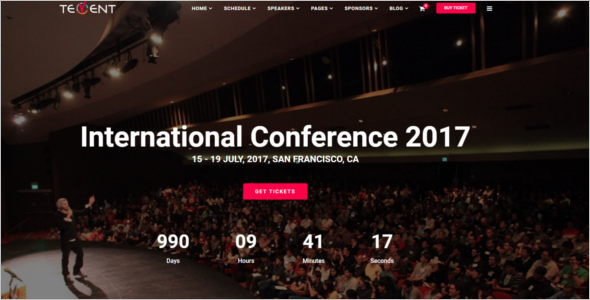 Event HTML5 Template