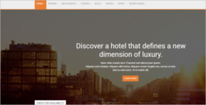 Event Hotel HTML5 Template