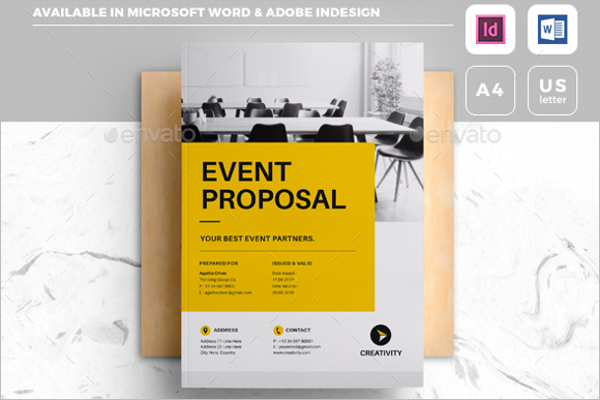 Event Proposal Template  Best Proposal Templates