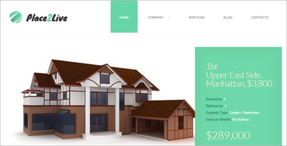 Eye-Catching Real Estate Joomla Template