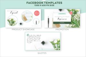 Facebook Adverting Mockup Design