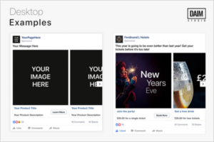 Facebook Carousel Ad Design