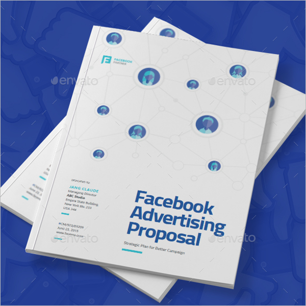 Facebook Marketing Advertising Template
