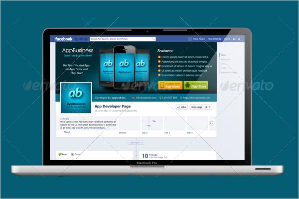 Facebook Mobile Ad Design Mockup