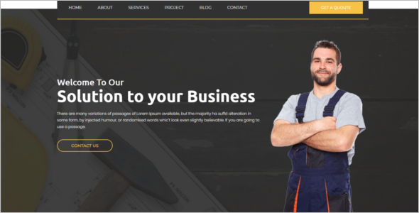 Factory & Industrial HTML5 Template