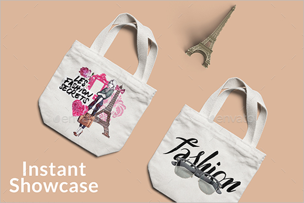 Fashion Bag Mockup Design