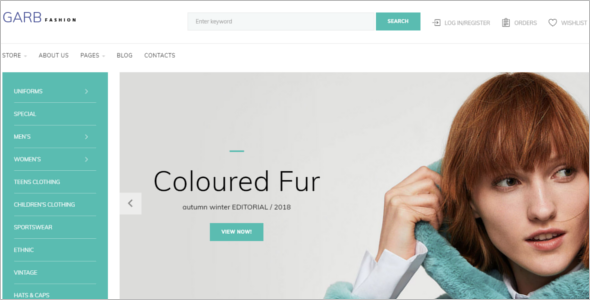 Fashion Ecommerce Joomla Template