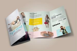 FashionLeaflet Design Template