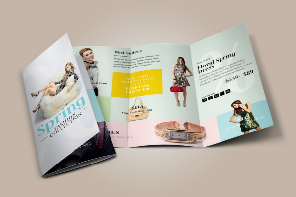 Fashion Leaflet Design Template