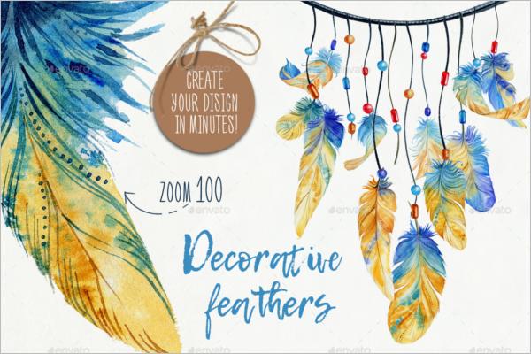 Feather Party Decoration Idea