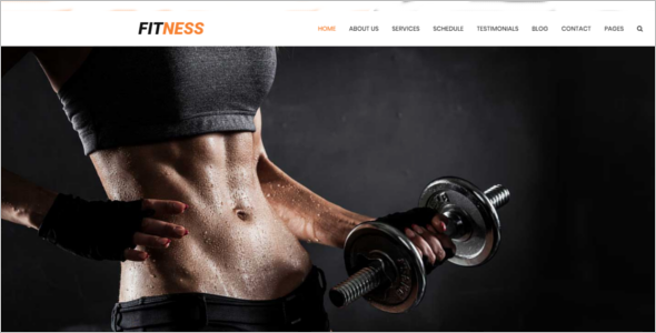 Fitness HTML5 Template