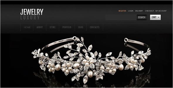 Flat Jewelry HTML5 Template