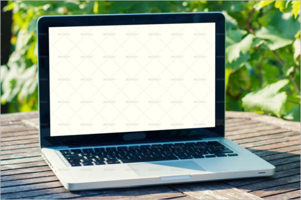 Flexible MacBook Mockups