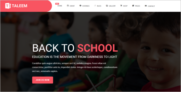 Flexible School HTML5 Template