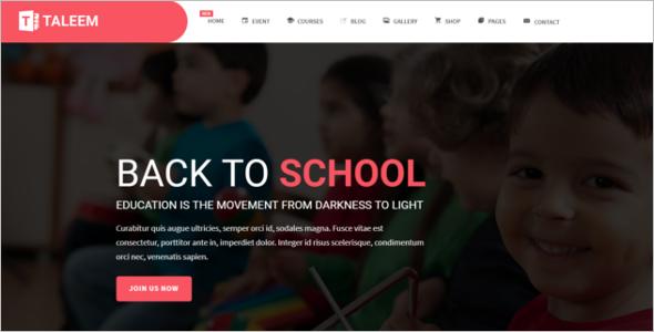 Flexible School HTML5 Template