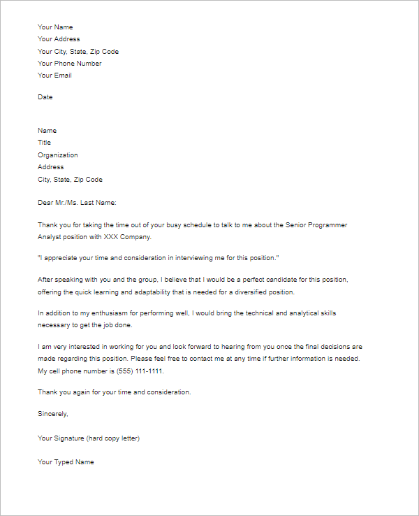 Follow Up Request Template