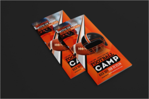 Football Training Brochure Template