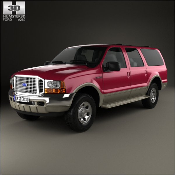 Ford 3D Sports Car Design