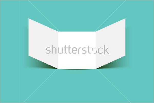 Free A5 Leaflet Mockup Template