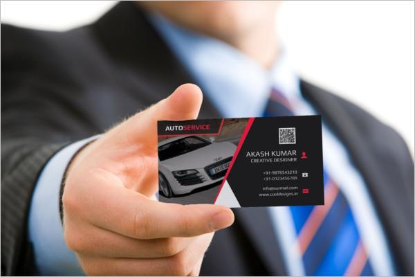 Free Automotive Business Card Template