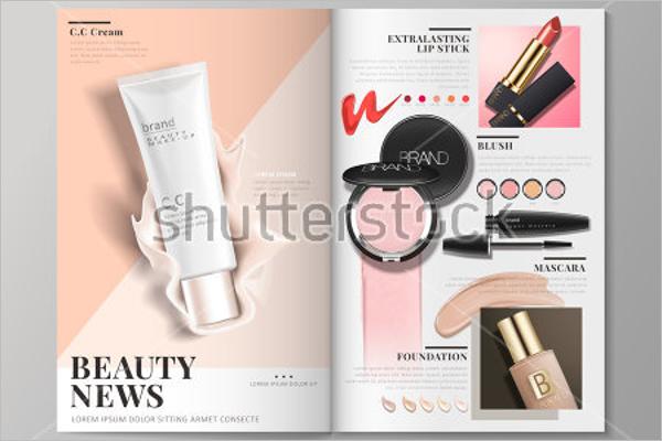 Free Beauty Brochure Design