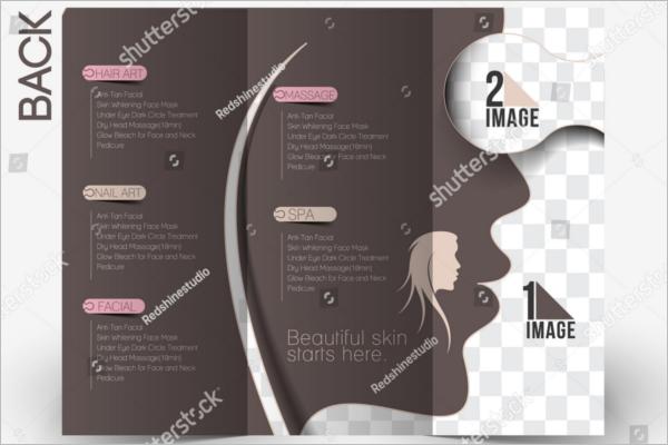 Free Beauty Spa Brochure Template