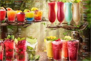 Free Download Drink Menu Template