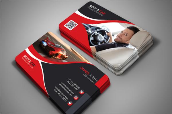 Free Editable Car Business Card