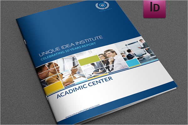 Free Education Training Brochure Template