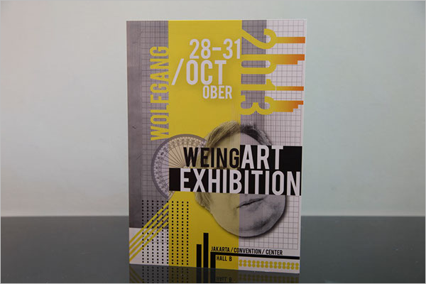 Free Exhibition Brochure Template