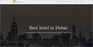 Free Hotel HTML5 Template