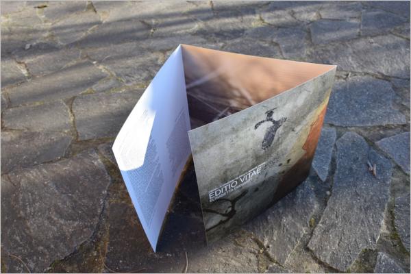 Free Leaflet Exhibition Brochure Design
