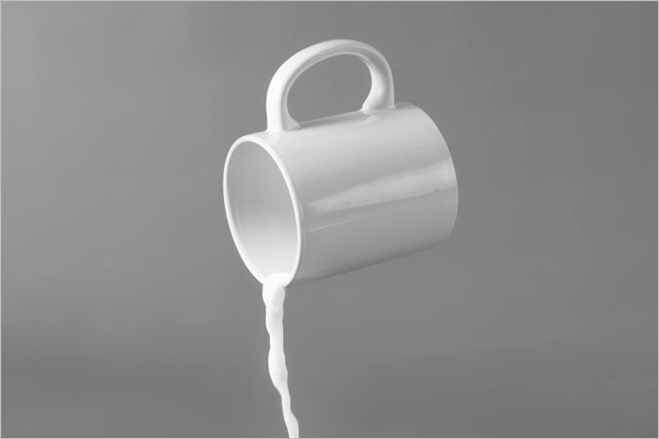 Free Mug Cup PSD Mockup