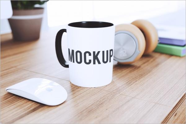 FreeMug Mockup Template