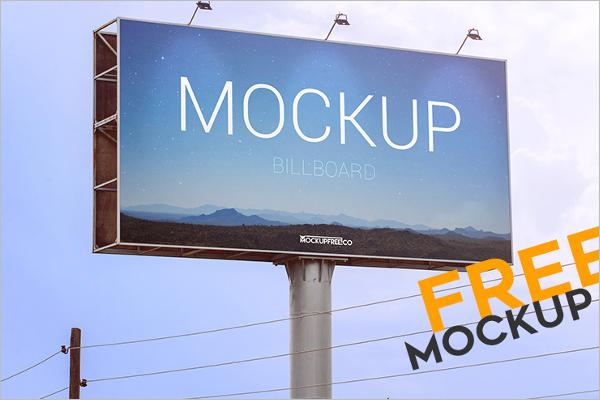 Free PSD Outdoor Mockup